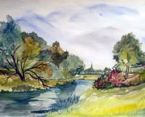 Bad Liebenwerda (Aquarell)
